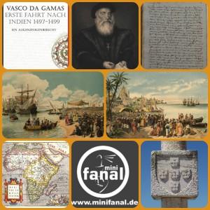 Vasco da Gamas erste Fahrt nach Indien